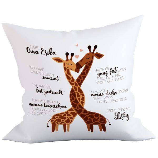 Deko Kissen Giraffe