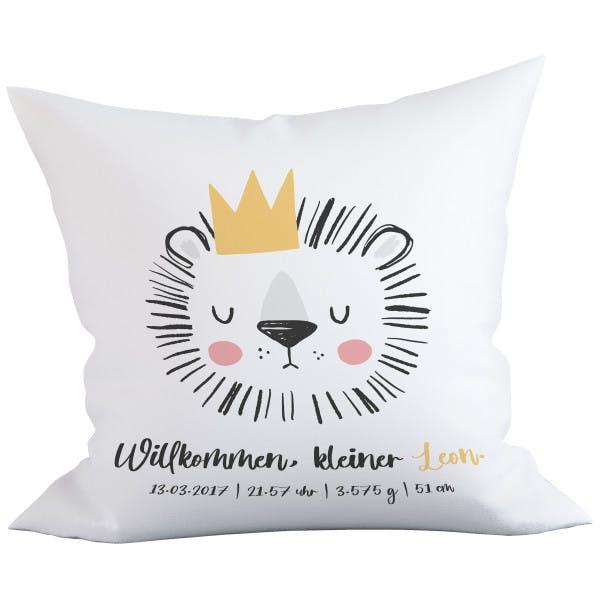 Kissenbezug Löwe 1