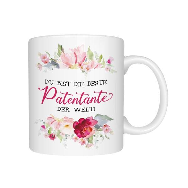 Beste Patentante Tasse 1