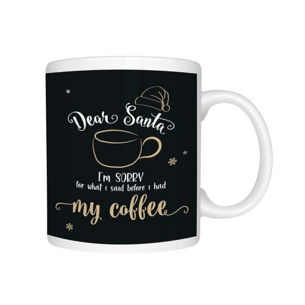 Kaffeebecher Santakaffe 1