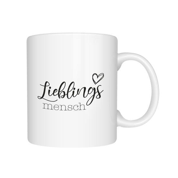 Tasse Lieblingsmensch 1