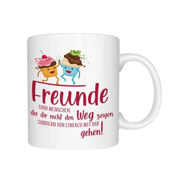 Beste Freunde Tasse Cupcake 1